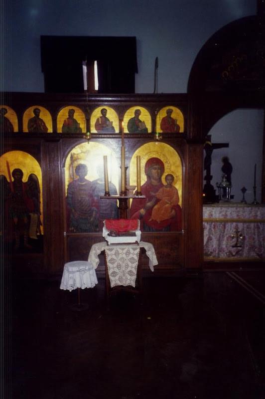 Iconostas din Paraclisul patriarhal din Alexandria
