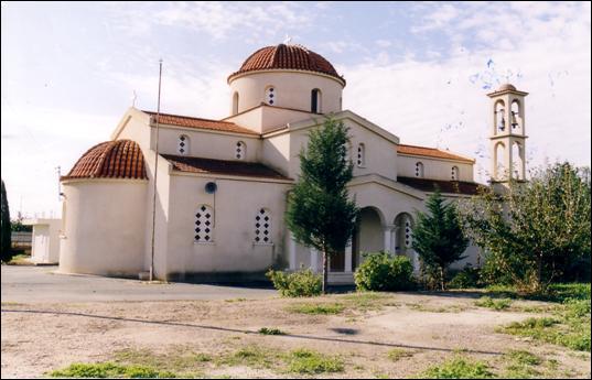 Biserica Sfinţilor Andronic și Athanasía din Mandria, insula Pafos
