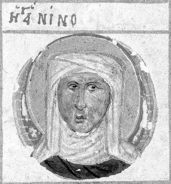 Sfânta Nina, Mănăstirea Iviron, secolul XV