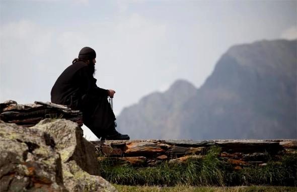 μοναχός-προσευχή