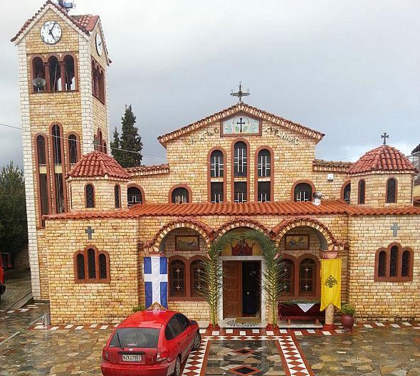 Biserica Sfintei Mucenite Kyranna din Ossa