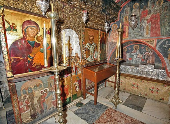 hristodul-din-patmos-manastirea in