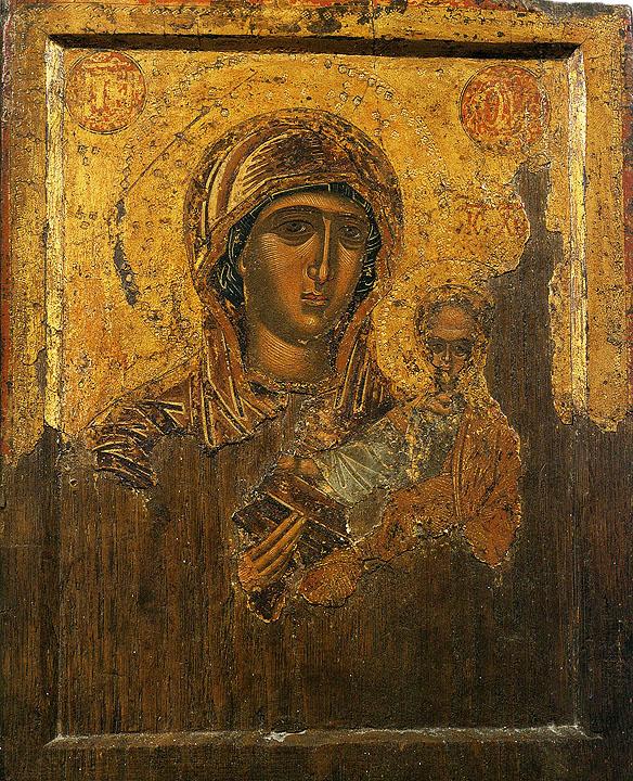 Maica Domnului odighitria, Athos, sec. XVII
