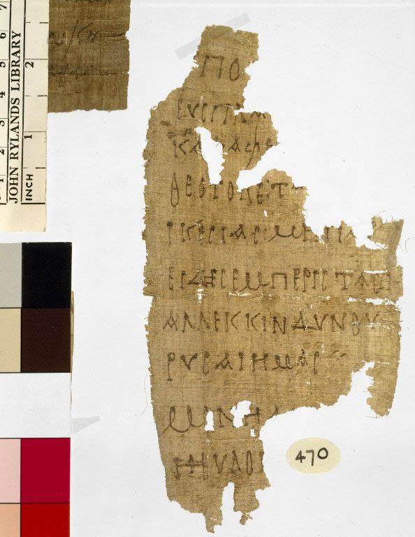 Papirusul de la Biblioteca John Rylands din Manchester
