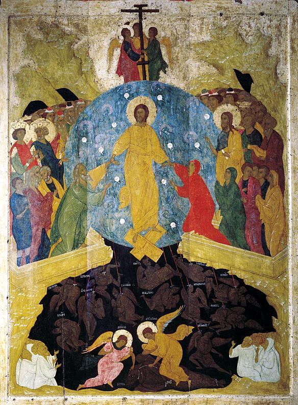 22 apr in - Invierea Domnului, de Dionisie, Rusia s 15