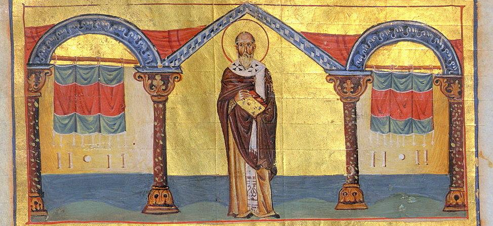 chiril al alexandriei, ilustratie de minologhion bizantin, s 11-001