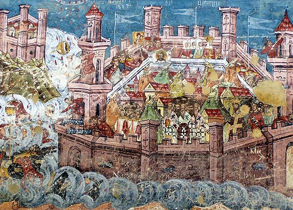 Asediul Constantinopolelui - Moldovița,1537