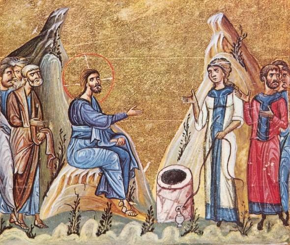 Convorbirea Mântuitorului cu Samarineanca – manuscris athonit, Dionisiou, sec XI
