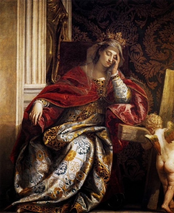 Viziunea Sfintei Elena, operă de Paolo Veronese (1580).