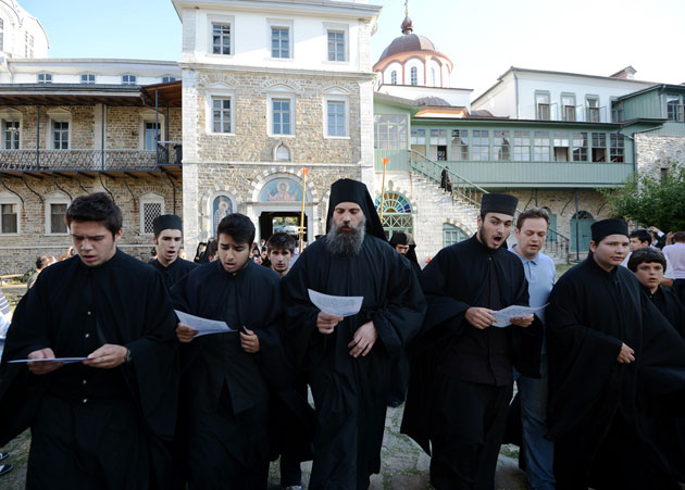 The style and ethos of Athonite singing