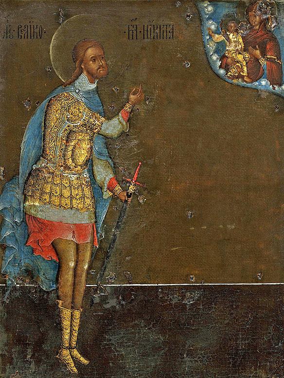 Nichita Gotul, icoana ruseasca 1593 IN