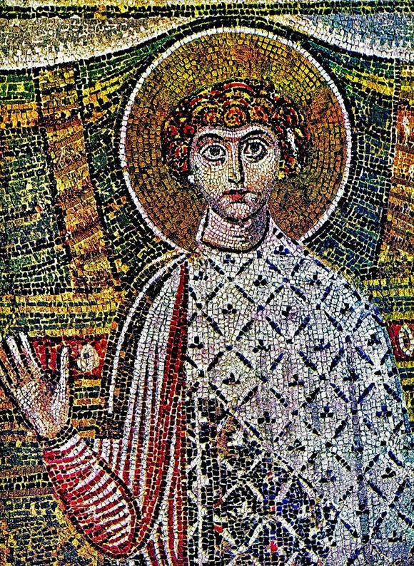 dimitrie al tesalonicului, mozaic s7, Biserica sf Dimitrie salonic in