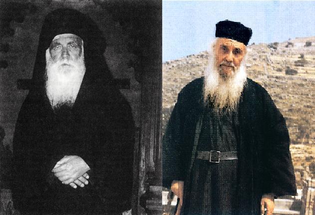 Duhovnici renumiți, precum Bătrânul Amfilóhie Makrís (dreapta) și Filóthei Zervákos (stânga), au cerut mereu sfatul și îndrumări de la Părintele Daniil în lucrarea lor duhovnicească.
