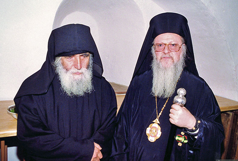 Agios Paisios & patriarchis Vartholomaios (1992) IN