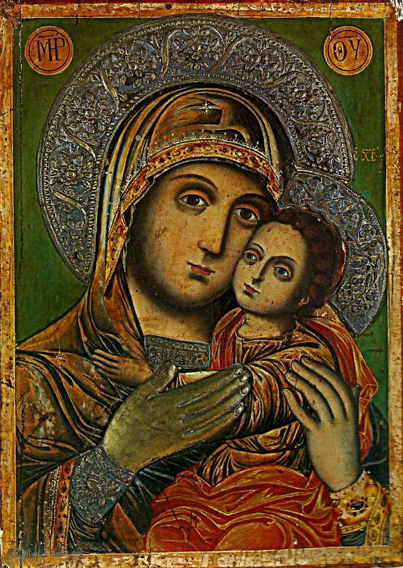 Icoana Maicii Domnului din Mănăstirea Sfântului Sava