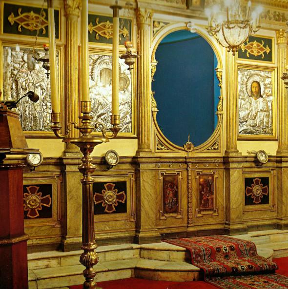 Iconostasul Bisericii Sfântului Sava
