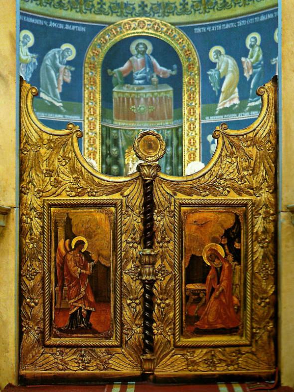 Interiorul Bisericii Buneivestiri