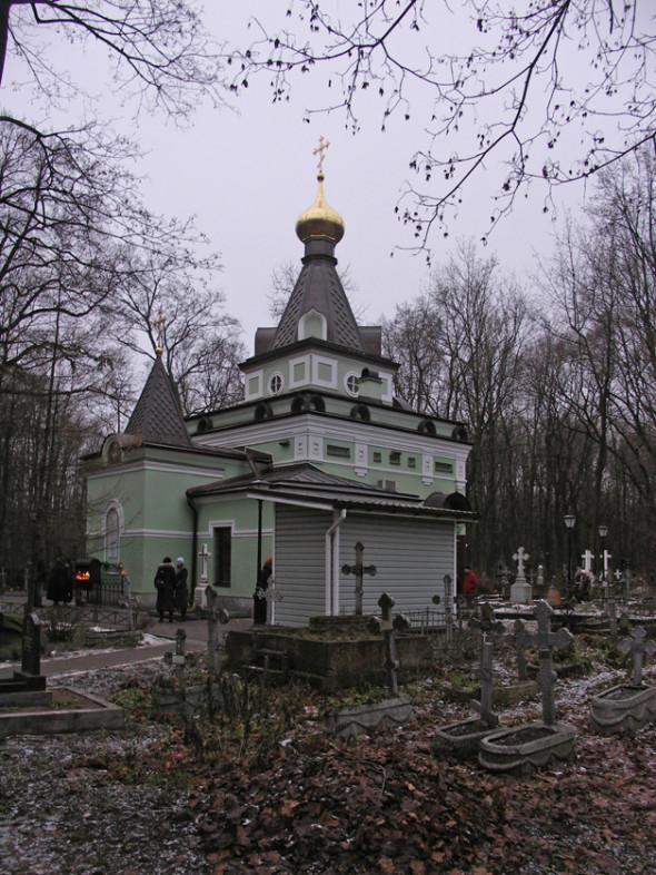 Mormântul Sfintei Xenia - exterior