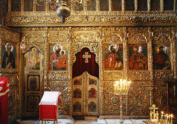 altar in iconostas