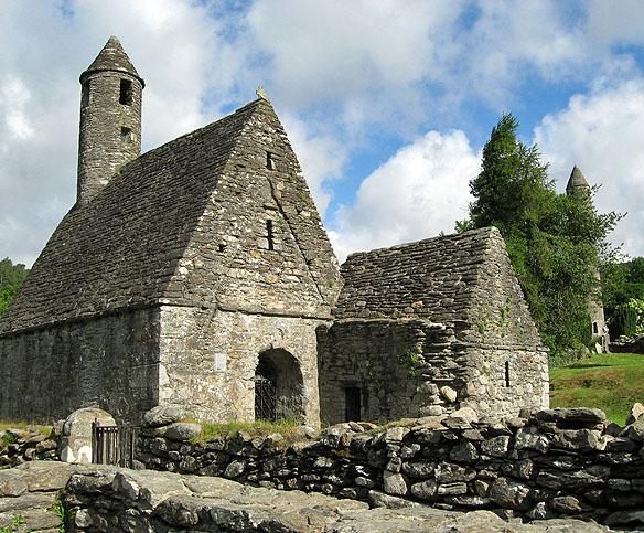 Biserica Sfântului Kevin din  Glendalough
