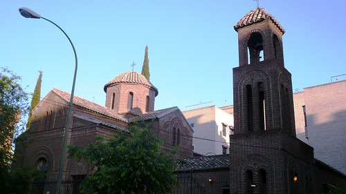 Catedrala ortodoxă greacă a Sfinţilor Andrei şi Dimitrie, Madrid
