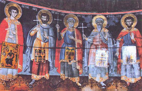 5-saints agia anna