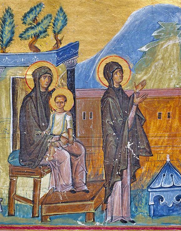 Anna, mama proorocului Samuil, Psalter and New Testament in Greek, 1084-1101, Dumbarton Oaks IN