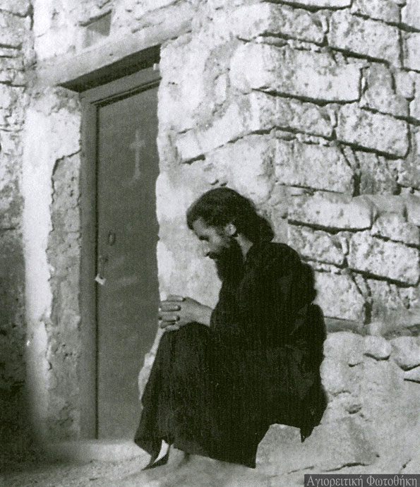 Paisios-while-staying-in-Mount-Sinai