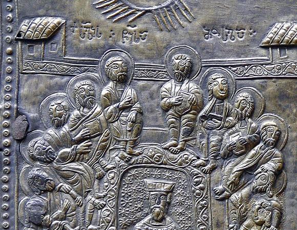 Cincizecimea,-fragment-de-acoperamant-de-Evanghelie,-Georgia-s16-IN
